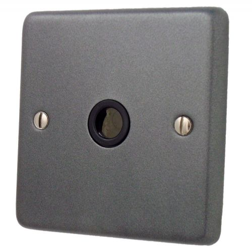 G&H CP79B Standard Plate Pewter 1 Gang Flex Outlet Plate